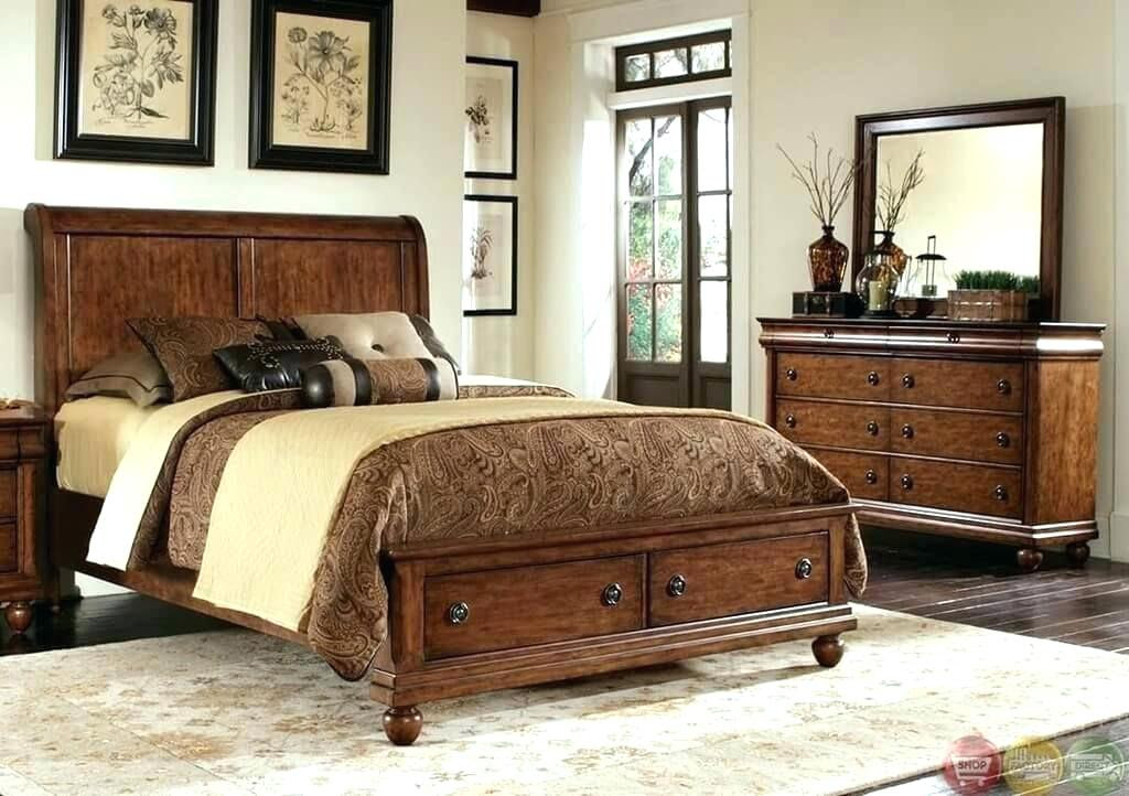 Rustic Bedroom Furniture Traditional Sets Pine Ideas Ashley