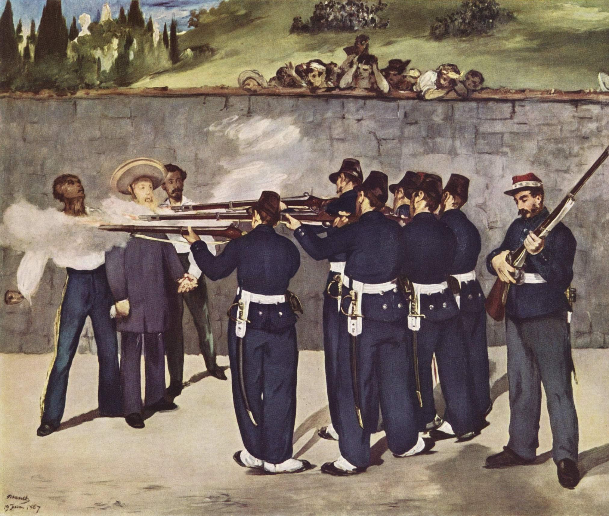 L'esecuzione di Massimiliano