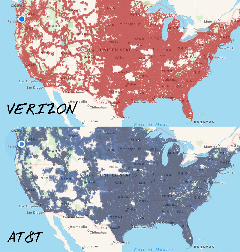 At&t Cell Phone Coverage Map Louisiana - Jose Goldman Cell Phone Signal Coverage Map on