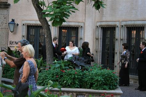 Wedding Ceremony Wrapping Up At Tlaquepaque