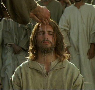 Resultado de imaxes para il baptismo de cristo cine