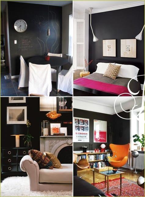 Making Black/Chalkboard Paint Work For You (Room Inspiration ...