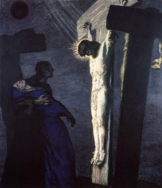 http://franz_von_stuck.tripod.com/Crucifixion.jpg