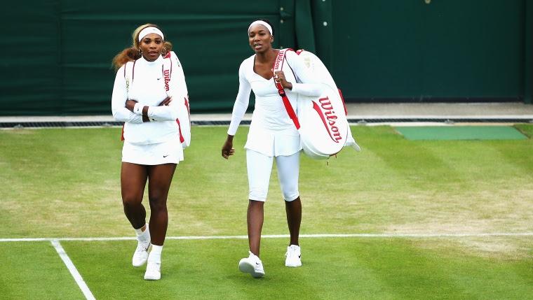 Les soeurs Serena et Venus Williams