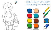 Caillou Boyama Kitabı Oyunu Oyna
