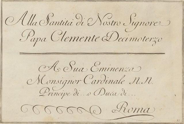 La penna da scrivere - Francesco Polanzani, 1768 j