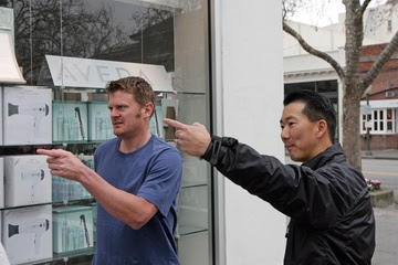 Floyd Landis and George Takei