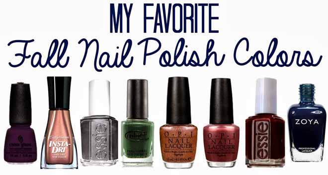 Best New Nail Colors for Fall