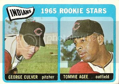 #166 Indians Rookie Stars: George Culver and Tommie Agee