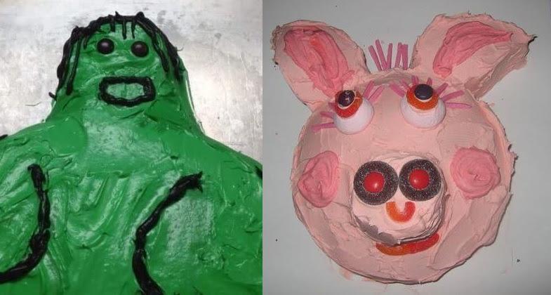 Resultado de imagem para bolos bizarros