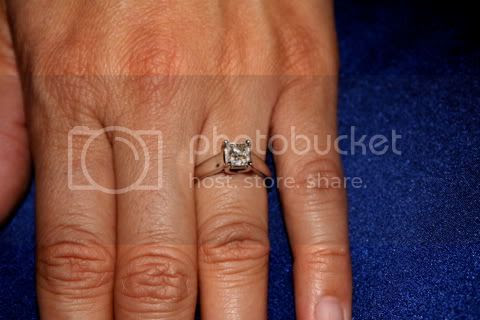 Celia's engagement ring