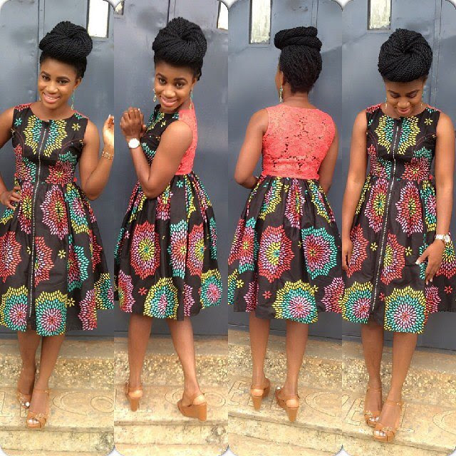 Top12 Cutest: Trendy Ankara Short Gown..Ever - fashionly