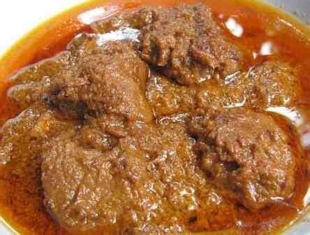 daging rendang minang nz resepi world