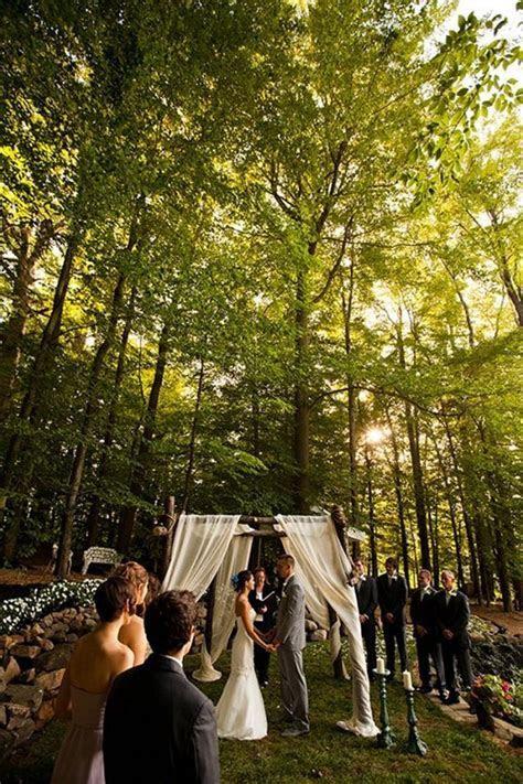 Sarah and Zac's $7,000 Backyard Wedding   Ceremony