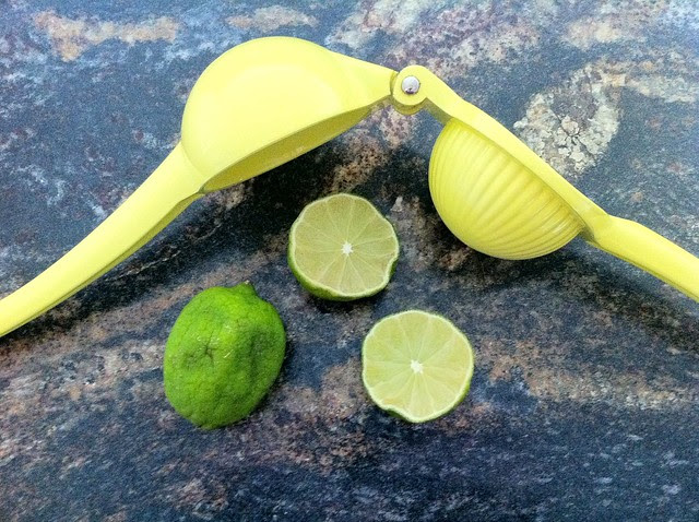 Two Limes with Juicer