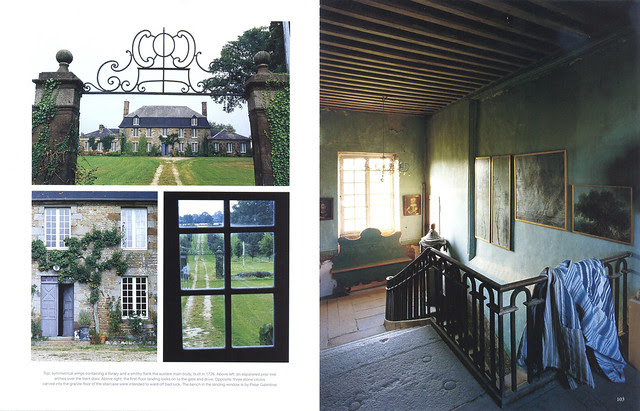 """Le Château in """"World of Interiors"""" 2004 July issue- 2"""