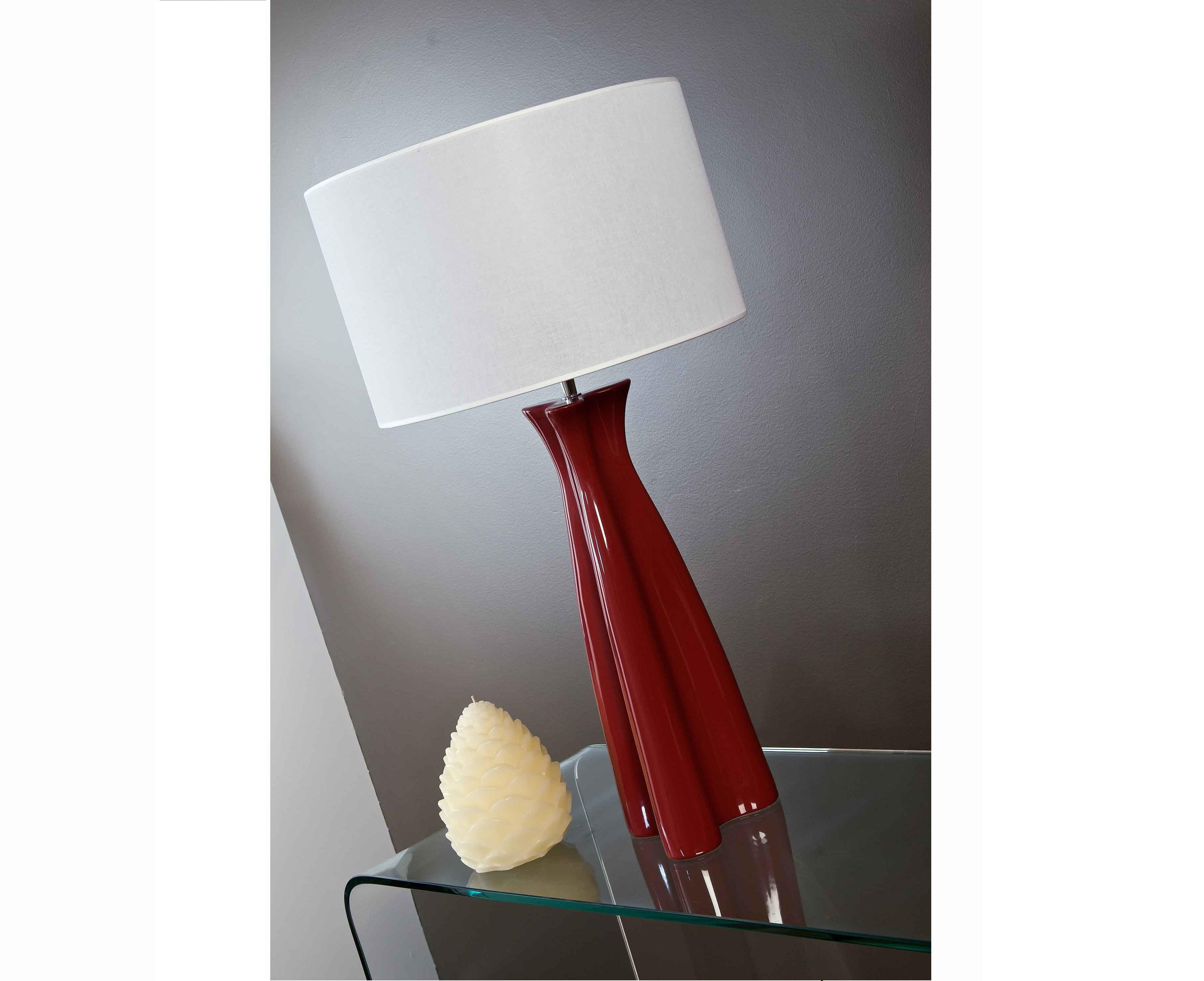 Lampe à Poser En Céramique Tulip Meubles Et Décoration Tunisie