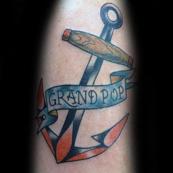 40 Grandpa Tattoos For Men Tribute Ink Design Ideas