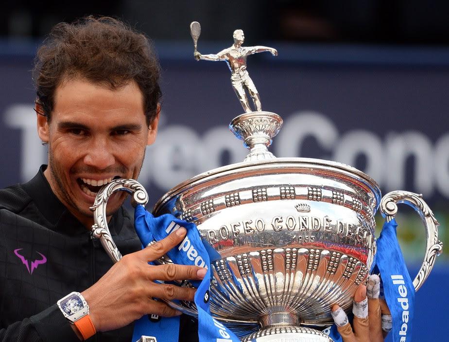 Nadal passa por Thiem e fatura 10º título do ATP de Barcelona