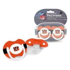 NFL Cincinnati Bengals 2 Pack Pacifier