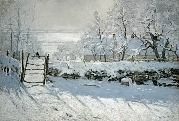 Claude Monet - La Urraca