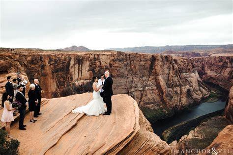 Horseshoe Bend Elopement Wedding   Elopement Photographers