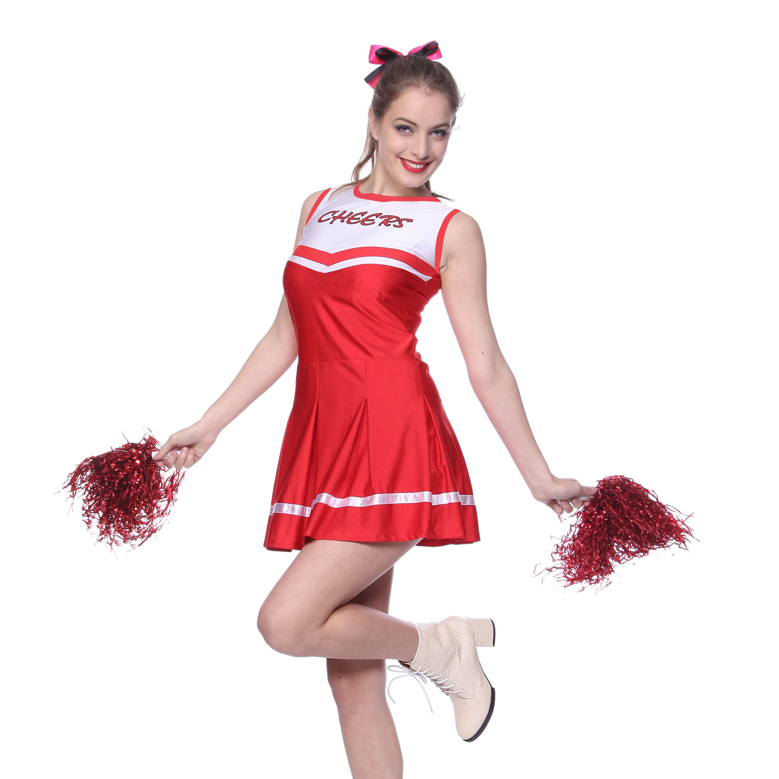 adult high school cheerleader outfit fancy dress costume