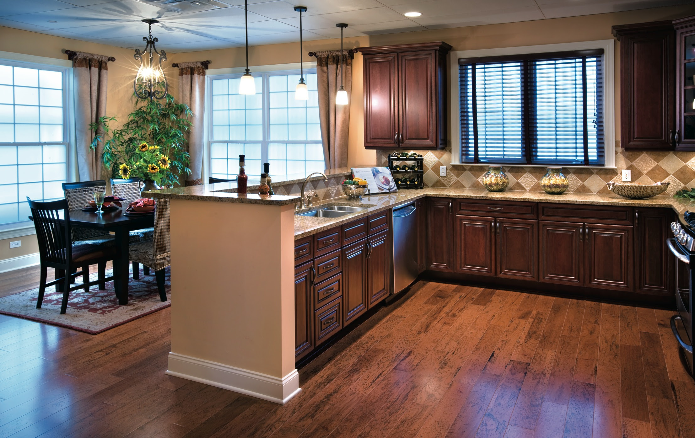 Toll Brothers Model Homes Kitchens