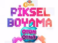 Piksel Boyamapiksel Boyama Oyunutrt çocuk Oyunlarıoyun