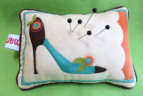 Ivory Pincushion #1 - Front