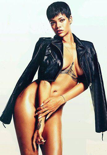 GQ - December 2012, Rihanna