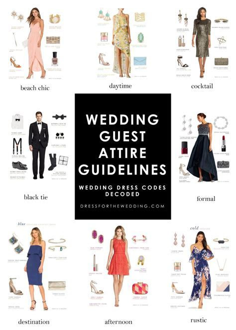 Wedding Guest Attire Guidelines in 2019   Tips   Formal