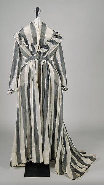 Another c. 1865 cotton dress from The Met