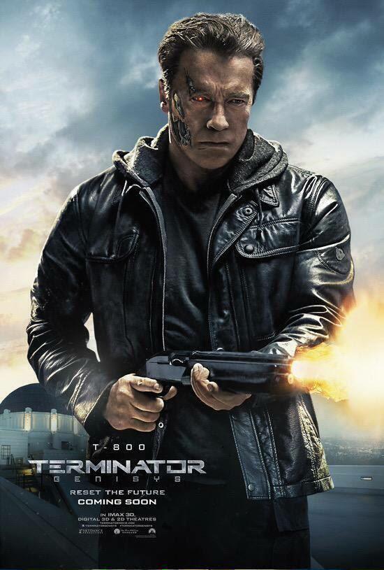 Resultado de imagen para Terminator Genisys poster