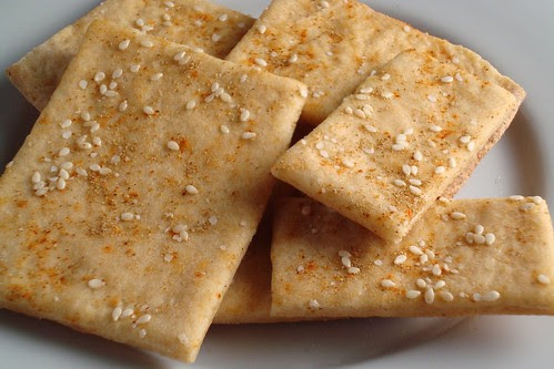 Vegan Lavash Crackers