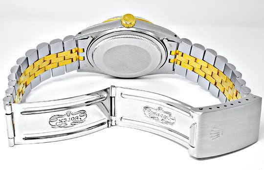 Foto 3, Original Hr-Rolex-Datejust St/G Topuhr Neuw.! Portofrei, U1857