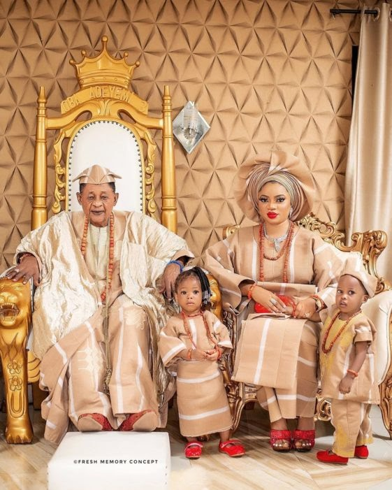 """WIFE TO ALAAFIN OF OYO, QUEEN ANU, YELLS SAYING, """"MY HUSBAND IS NOT AN OLD MAN"""""""