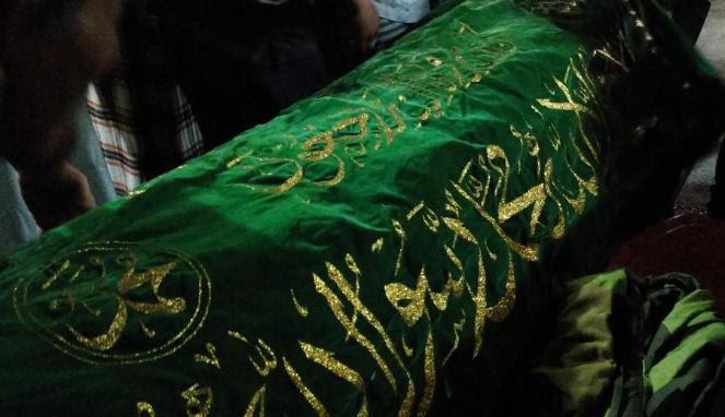 Jenazah Putri Nur Fauziah di rumahnya