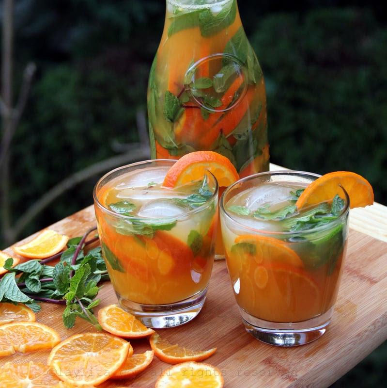 Mojito de mandarina