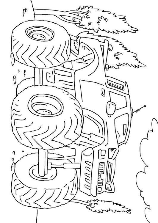 Dibujo Para Colorear Monster Truck Img 27165