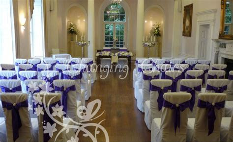 wedding venue decoration at Colwick Hall   Changing Chairs