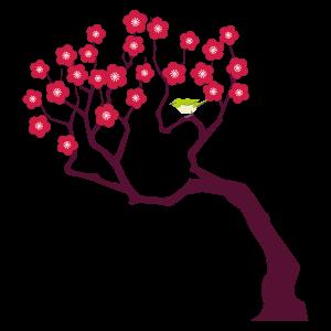 木 花植物イラスト Flode Illustration フロデイラスト