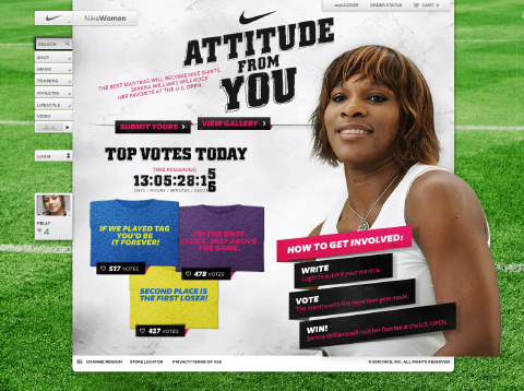 Nike Attitude for You - Serena Williams