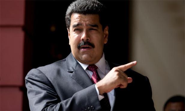 O presidente da Venezuela, Nicolás Maduro, reiterou que não vai promulgar a Lei de Anistia, aprovada pelo Parlamento, onde a oposição ao governo tem maioria, por considerar que ela tem como objetivo proteger criminosos / Foto: AFP