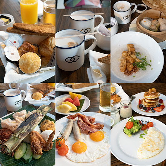 Sofitel Sentosa Resort & Spa Kwee Zeen Breakfast