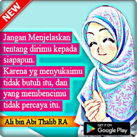 kata kata motivasi wanita muslimah berhijab  android