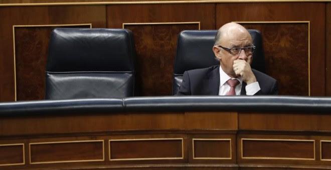 Montoro, hace unos días en el Congreso. EFE/Javier Lizón