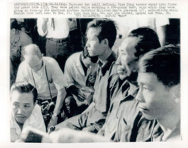 Saigon 1966 - Viet Cong Soldiers Face The Press After Capture