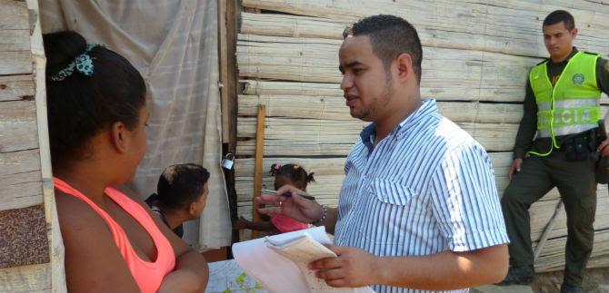 30 familias invasoras de lote para estación del MIO, sin reclamar subsidio