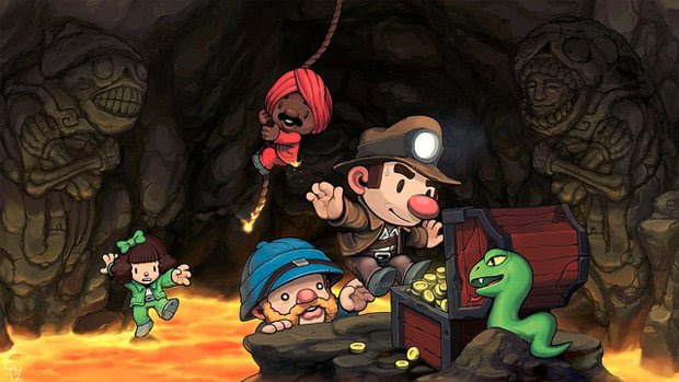 Spelunky heading to PlayStation 3 and PS Vita this summer screenshot
